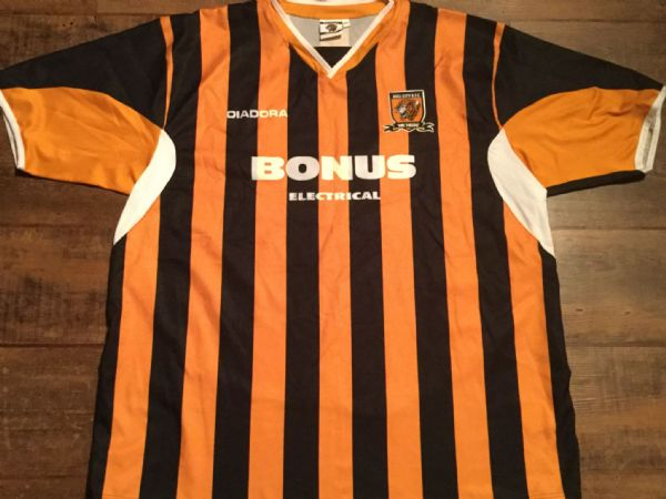 2005 2006 Hull City Home Football Shirt Adults XXL 2XL